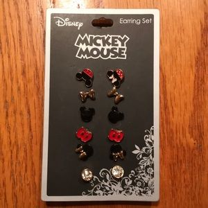 Disney Mickey Mouse Earring Set